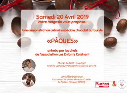 """Démonstration """"Pâques""""  Auchan Leuville-sur-Orge"""